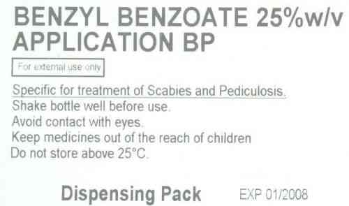 Benzyl Benzoate 1000ml b. Sommerekzem